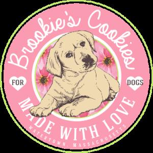 Brookie's Cookies Logo - Homemade dog cookies - Watertown, MA
