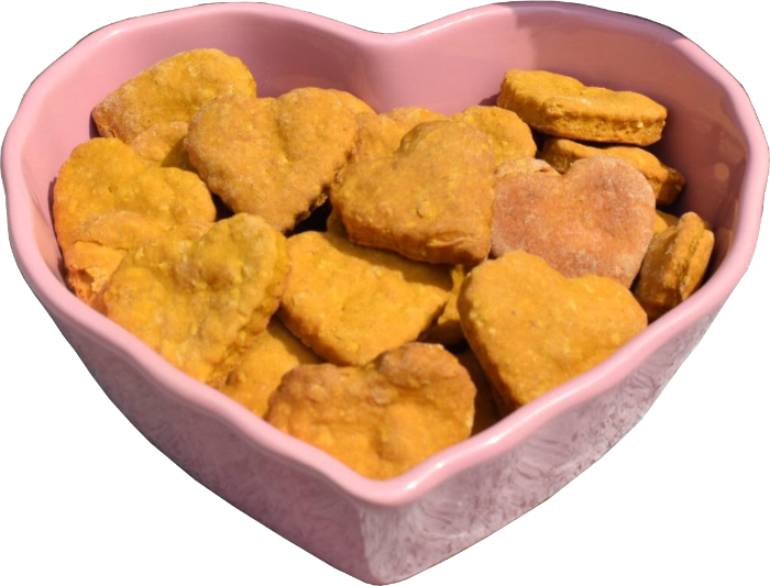 Brookie's Cookies - Homemade dog cookies - Made with Love.